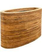 Кашпо Rattanplanter oval natural L110 W42 H62 6RAT39052
