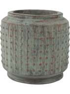 Кашпо Ralf cylinder copper green D32 H32 6RAL37440