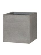 Кашпо Eco-line block m, brushed cement L40 H40 W40 6PPNBC185